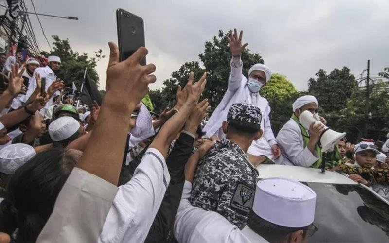Alasan Pemprov DKI Tak Bubarkan Kerumunan Massa di Acara Rizieq Shihab